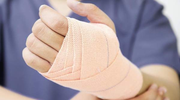 picture of Hand Sprains and Strains